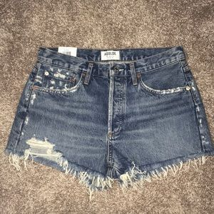 NWT Agolde Parker Rock Steady Shorts